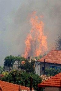 Incendiile se extind in Grecia