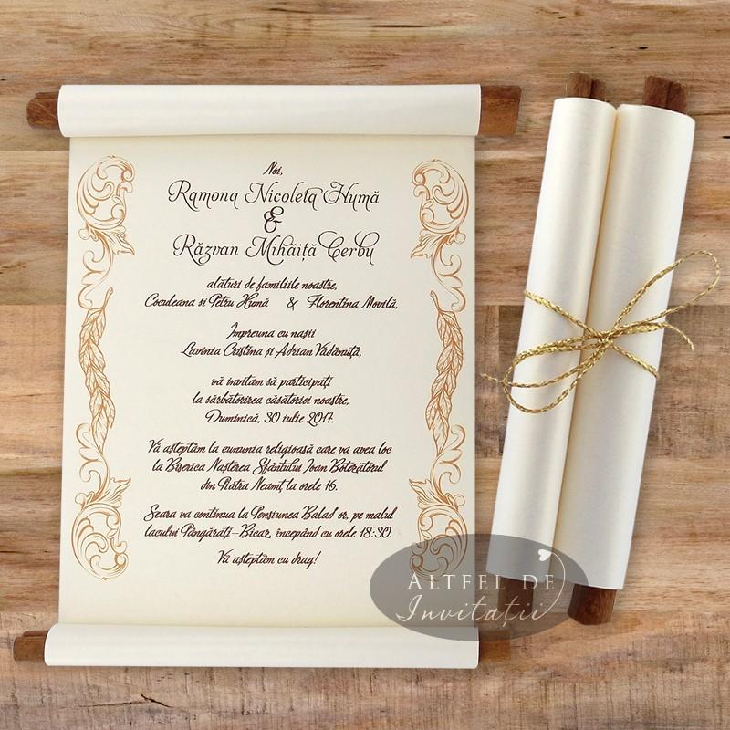 Ce greseli se fac in redactarea invitatiei de nunta