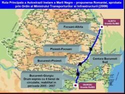 Autostrada Marii Negre va trece pe la Bucuresti