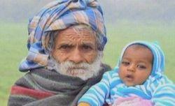 Un indian de 94 de ani, cel mai batran tata din lume