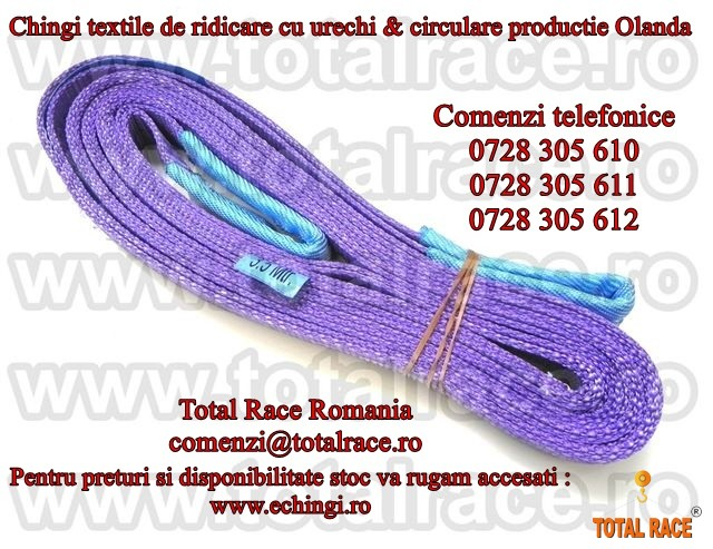 Chinga textila de ridicare cu ochi  livrare stoc Bucuresti