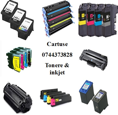 Livram cartuse ptr. multifunctionale,imprimante,copiatoare si faxuri.