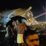VIDEO Accident aviatic în India: un avion cu 191 de persoane la bord s-a rupt în două la aterizare – International