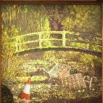 VIDEO Tabloul lui Banksy care parodiază nuferii lui Monet s-a vândut cu 7,6 milioane de lire sterline – International