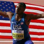 Christian Coleman, campion mondial la 100m, suspendat doi ani pentru că nu a respectat obligaţia de localizare antidoping – Alte sporturi