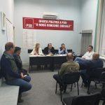 FOTO Ședință de campanie la sediul PSD Roman unde nimeni nu poartă mască – Politic