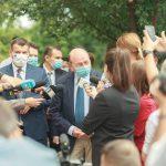 PMP, protest în fața ambasadei Republicii Moldova / Băsescu: La Chișinău s-a produs o adevărată lovitură de stat parlamentară – Politic